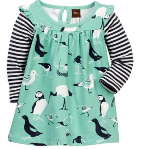 Tea Collection Other - NWT Tea Collection Seabirds Mighty Mini Dress